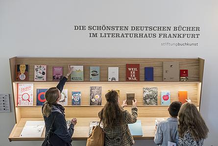 Die Schönsten deutschen Bücher im Literaturhaus