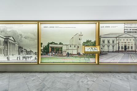 Bildtafeln zur Geschichte des Hauses