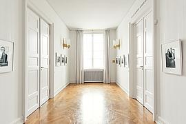 Kleines Foyer zwischen Lesekabinett und Salon Schöne Aussicht