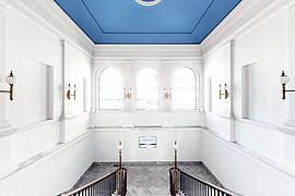 Treppenfoyer bzw. Vestibül