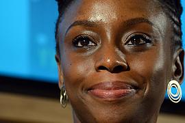 "Chimamanda Ngozi Adichie liest aus ihrem Roman ""Americanah"" im Literaturhaus Frankfurt am !2.05.14"