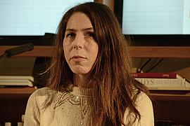 """Rachel Kushner liest aus """"Flammenwerfer"""", 25.3.15"""