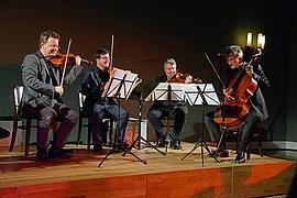 Vogler Quartett - Konzertgespräch, 19.4.15